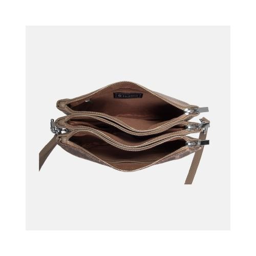Brązowa torebka skórzana