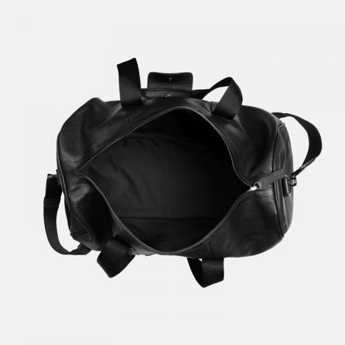 Czarna duża torba podróżna dla niego
