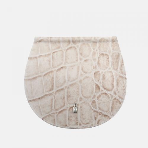 Beżowa torebka skórzana